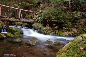 Каньонът на водопадите - Смолян