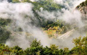 Над местността Ряката (Белинташ, Родопи)